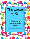 The Game of Six:  Writing Numbers to 100