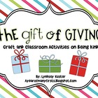 The Gift of Giving {Craft and Classroom Activities That En