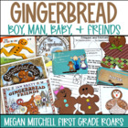 The Gingerbread Boy, Man, Baby & Friends
