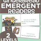 The Gingerbread Man Emergent Readers