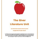 The Giver 42 Page Novel Guide