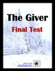The Giver Final Exam