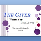 The Giver Interactive PowerPoint Student Journal