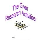 The Giver - Research Topics