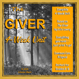 The Giver by Lois Lowry: Unit (Common Core Aligned)