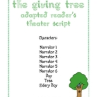 The Giving Tree: Reader's Theater Adaptation