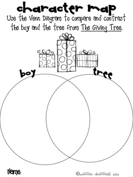 The Giving Tree by Shel Silverstein Literacy/Writing/Phonics Unit