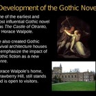 The Gothic Novel Powerpoint Presentation