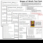 The Grapes of Wrath Test Pack