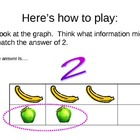 The Graphing Game  analyzing data powerpoint game