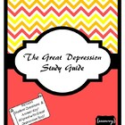 The Great Depression Study Guide