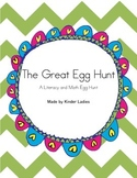 The Great Easter Egg Hunt - A Literacy/Math Egg Hunt