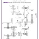 The Great Gatsby: 3 Reading-for-Detail Crosswords--Challenging!