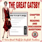 The Great Gatsby Chapter 7 Activity