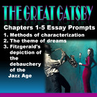 The Great Gatsby Chapters 1-5 Essay Prompts