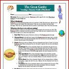 The Great Gatsby Facebook Reading Comprehension Activity