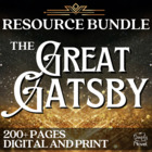 The Great Gatsby Literature Guide: Common Core Aligned Tea