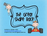 The Great Shape Race: A Plane and Solid Geometric Shape Game