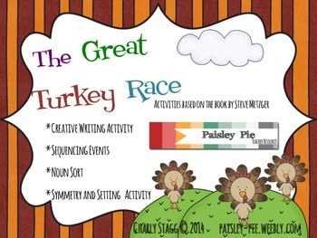 The Great Turkey Race  Literacy and Math Activities
