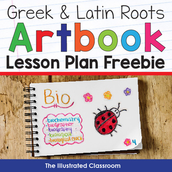 The Greek and  Latin Roots and Stems Art Book Lesson Plan