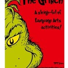 The Grinch - A Sleigh-Ful of Language Arts Activities - Ho
