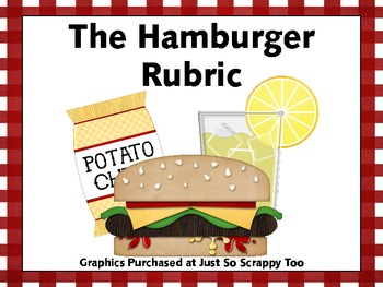 The Hamburger Rubric - A 5 Point Scoring Guide