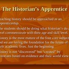 The Historian's Apprentice; Slide Show Presentation