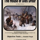 The House of Dies Drear   Objective Tests