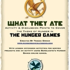 The Hunger Games Free Lesson Comparison Starvation Theme