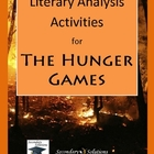 The Hunger Games Literary Analysis Activity Pack