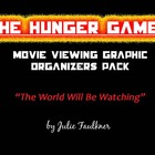 The Hunger Games Movie Viewing Graphic Organizer Bundle