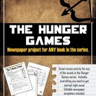 &quot;The Hunger Games&quot; Newspaper Project