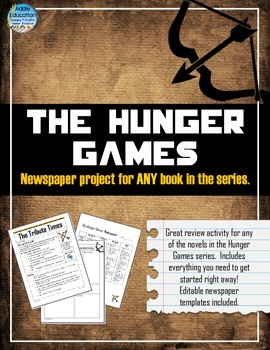 """The Hunger Games"" Newspaper Project"