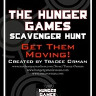 The Hunger Games Novel Scavenger Hunt Review Activity