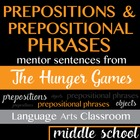 The Hunger Games: Prepositions and Prepositional Phrases