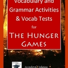 The Hunger Games Vocabulary and Grammar Activities and Voc
