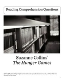 The Hunger Games by Suzanne Collins Reading Comprehension