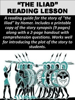 The Iliad Comprehension Questions Study Guide