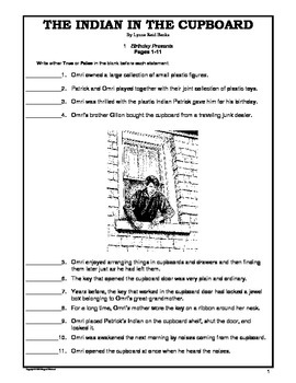 The Indian in the Cupboard  Objective Tests Teaching Pack