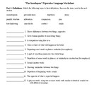 The Interlopers by Saki Figurative Language Worksheet & KEY