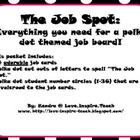 The Job Spot (Classroom Jobs)