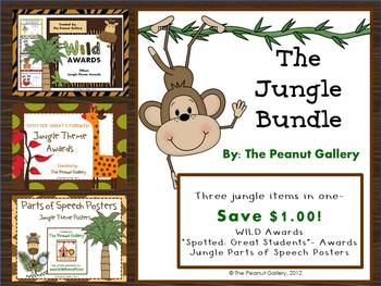 The Jungle Bundle (Three Items in One)