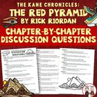 FREE The Kane Chronicles: The Red Pyramid Chapter Discussi