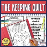 The Keeping Quilt Guided Reading Unit by Patricia Polacco
