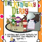 The Kentucky Derby- A Writing and Craft Freebie
