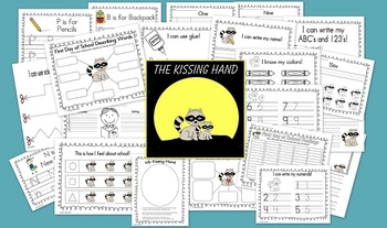 """The Kissing Hand"" Back to School Activities"