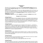 The Kite Runner Writing Prompts-for in-class essays (over