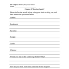 The Knight at Dawn Worksheets (Magic Tree House #2) *With