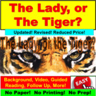 The Lady, or the Tiger Short Story PowerPoint