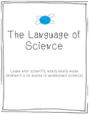 The Language of Science by Miss Sharp